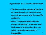 dysfunction 3 lack of commitment2
