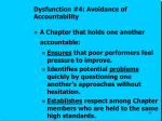dysfunction 4 avoidance of accountability2