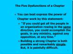the five dysfunctions of a chapter1