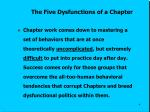 the five dysfunctions of a chapter2