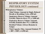 respiratory system physiology continued1