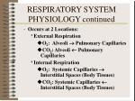 respiratory system physiology continued4