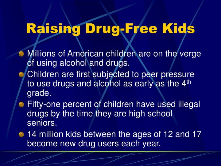 raising drug free kids n.