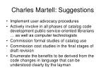 charles martell suggestions