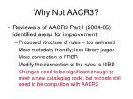 why not aacr31