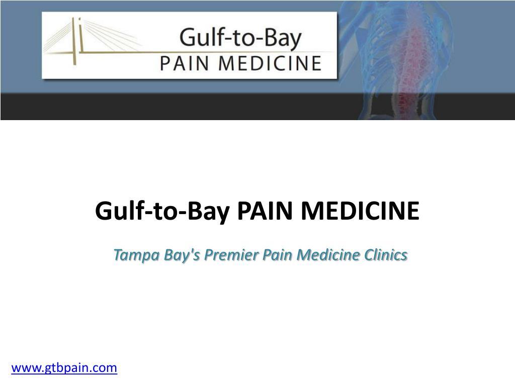 Gulf-to-Bay PAIN MEDICINE