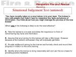 situational judgement test untimed