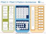 psoc 3 psoc 5 platform architecture
