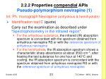 2 2 2 properties compendial apis pseudo polymorphism nevirapine 1