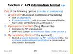 section 2 api information format 4 50
