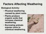 factors affecting weathering1