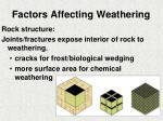 factors affecting weathering2
