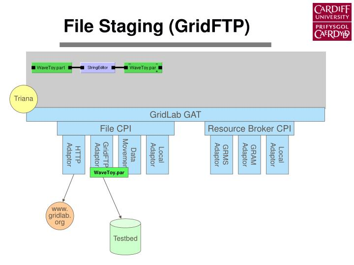 File Staging (GridFTP)