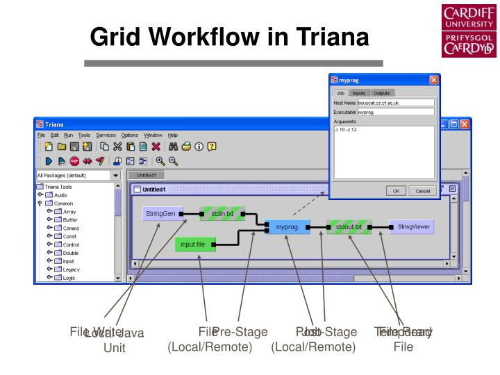Grid Workflow in Triana