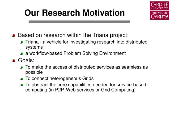 Our Research Motivation