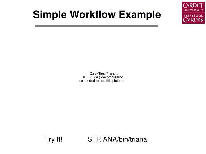Simple Workflow Example