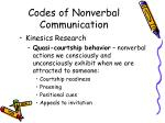codes of nonverbal communication2