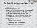 artificial intelligence systems
