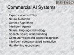 commercial ai systems