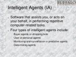 intelligent agents ia