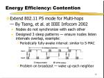 energy efficiency contention