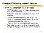 energy efficiency in mac design1