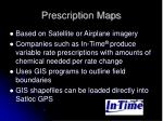 prescription maps