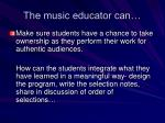the music educator can1