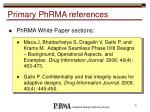 primary phrma references1
