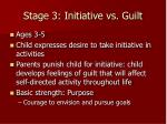 stage 3 initiative vs guilt