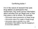 conflicting duties 1