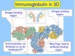 immunoglobulin in 3d