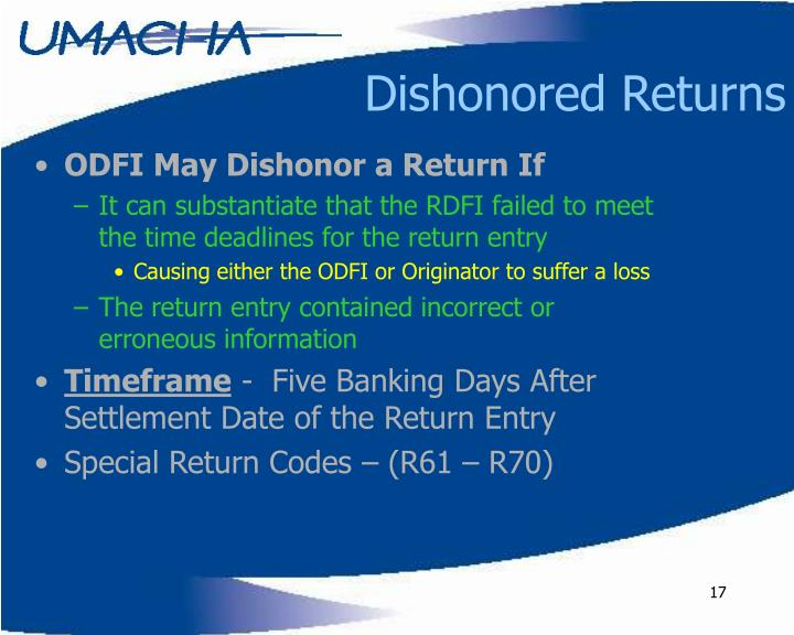 Dishonored Returns