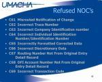 refused noc s