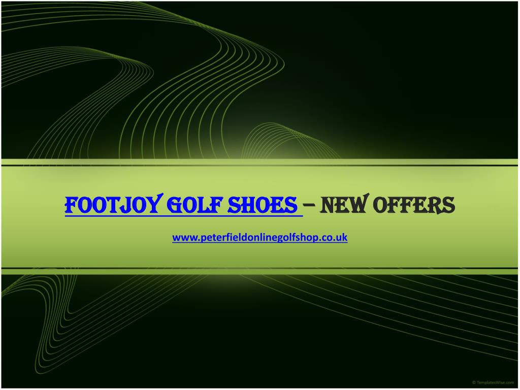 footjoy golf shoes new offers l.