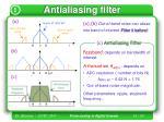 antialiasing filter