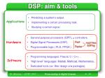 dsp aim tools