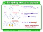 sampling low pass signals