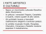 i fatti artistici e culturali4