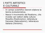 i fatti artistici e culturali6