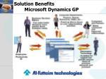 solution benefits microsoft dynamics gp