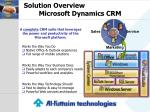 solution overview microsoft dynamics crm1