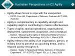 australian perspectives on c2 agility