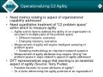operationalizing c2 agility1