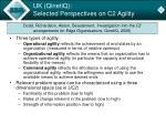 uk qinetiq selected perspectives on c2 agility