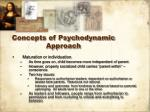 concepts of psychodynamic approach1