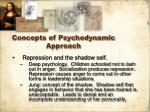 concepts of psychodynamic approach3
