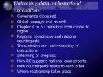 collecting data on household expenditure10