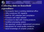 collecting data on household expenditure24