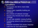 collecting data on household expenditure25